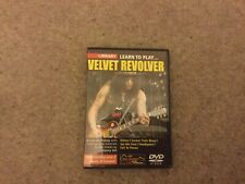 LICK LIBRARY Learn to Play Velvet Revolver Electric GUITAR DVD