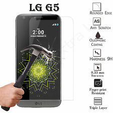 REAL TEMPERED GLASS FILM LCD SCREEN PROTECTOR FOR LG G5 (2016)