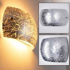 Argento Luce Design Lampada Parete Moderno Applique Murale Camera Letto Ingresso