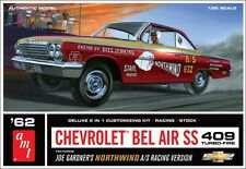 AMT 1962 Chevy Bel Air SS 409, 1/25, New (2014), in Factory Sealed Box