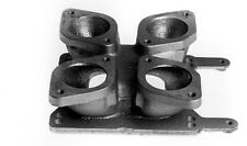 Twin IDF Weber to 4BBL Holley Carburettor Adaptor Carb Holden 253-308 Ford 351