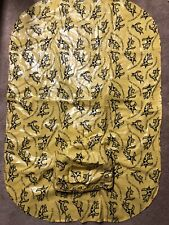 "Fashion Pet Large Dog Raincoat ""It's Raining Cats&Dogs"" Yellow & Black XXL"