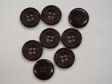 8pc 20 mm Redwood brun rougeâtre factices Horn Veste Cardigan Knitwear Bouton 4303