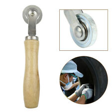 """1 1/2"""" Car Wooden Handle Bearing Roller Tire Repair Compaction Tyre Patch Tools"""