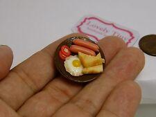 2 pcs.of Miniature Yummy Food: Breakfast