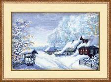 Russian Winter - Riolis Counted Cross Stitch Kit New