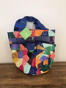 NWT Vera Bradley Dorm Shower Caddy College Tote Bag in Pop Art