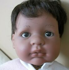 Lifelike realistic Berenguer spain pudgy Black reborn Baby Doll weighted