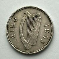 Dated : 1953 - Ireland - Threepence - 3d Coin - Irish Coin