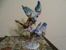 Rosenthal Figurengruppe drei Vögel H.Meisel