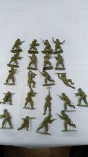 WW2 Vintage Airfix 1/32 German Infantry soldiers Plastic unpainted Bundle Lot