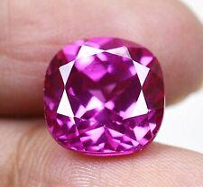 9.35 Ct Ceylon's Natural Pink Sapphire Cushion Certified Loose Gemstone B8078