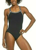 Dolfin Women's Reliance Team Chloroban Solid Dbx Back Swimsuit