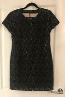 BNWOT FRENCH CONNECTION LITTLE BLACK LACE PARTY DRESS SIZE 14