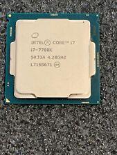 Intel Core i7-7700K SR33A LGA1151 4.2GHz - 8MB Cache Desktop Processor CPU