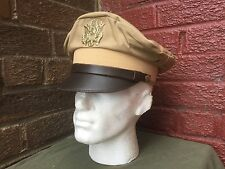 WW2 US officers summer cap Chino size 58cm