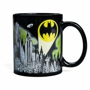 OFFICIAL DC COMICS BATMAN HEAT CHANGING TEA COFFEE CUP MUG BRAND NEW!