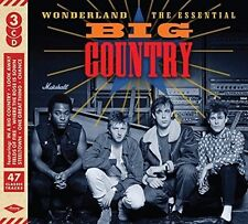 BIG COUNTRY WONDERLAND THE ESSENTIAL 3 CD (Released 31st March 2017)