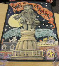 """Sendak in Philadelphia"" April 1995 Autographed Maurice Sendak Poster"