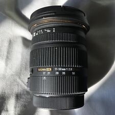 MINT Sigma 17-50mm f/2.8 EX DC OS HSM Zoom Lens for Canon APS-C EF-S DSLRs