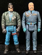 Vintage Lot Of 2 M.A.S.K. Miles Mayhem Sly Rax Kenner Loose Figures Very Clean!