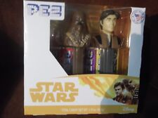 Star Wars Pez, Han Solo & Chewbacca box set, new 2018