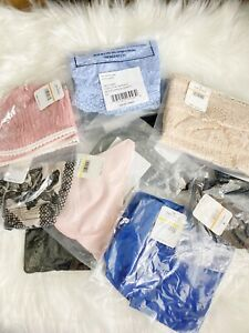 Free People Intimates Only 5 Pc Mixed Lot New Factory Bags With Tags Attached