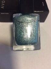 Avon nail polish Stardust Jewel Blue
