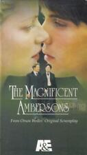 VHS: 2-VIDEO A&E THE MAGNIFICENT AMBERSONS.....MADELINE STOWE,,,,,NEW