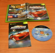 JEU XBOX  NEED FOR SPEED POURSUITE INFERNALE 2  complet