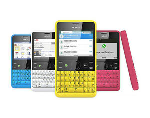 Unlocked Nokia Asha 210 RM-924 RM-925 Dual&Single SIM 2G GSM 900 1800 3MP