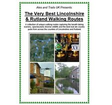 The 'Very Best Lincolnshire & Rutland Walking Routes' & Real Ale Trails E-Book