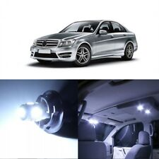 18 x White LED Interior Light Package For 2008 -2014 Mercedes C Class W204 +TOOL