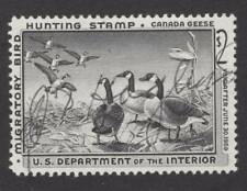 RW25 ~ 1958 US Federal Duck Stamp ~ USED ~ Signed