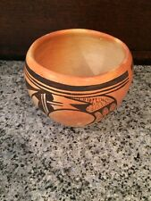 Arizona Native American Hopi Pottery Bowl signed Annette Silas