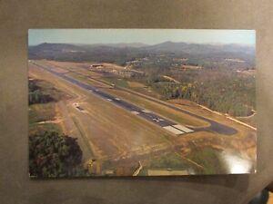 Asheville, NC Airport Postcard