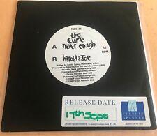 """The Cure Never Enough UK 7"""" Rare White Label Promo Harold & Joe"""