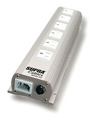 "Supra MD-06US Mains Block/Power Filter HI FI NEWS ""HIGHLY COMMENDED"" !"