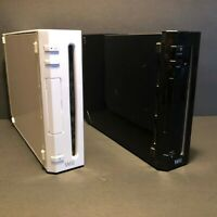 Nintendo Wii Black & White Console System Only Model RVL-001 GameCube Compatible