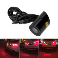 LED Car Laser Stop Projection Fog Light Taillight Lamp Rear Warning Signal Lamp