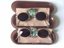 2 PAIRS MEN IN BLACK WILD WILD WEST SUNGLASSES FROM BURGER KING 1999 SEALED