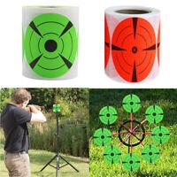 """125Pcs Adhesive Shooting Target 3"""" Splatter Target Shooting Stickers Hunting"""