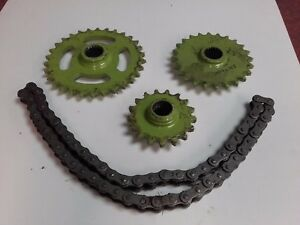 CLAAS I30 / 906 PICK UP REEL 17 TOOTH / 24 & 30 TOOTH AUGER SPEED KIT INC CHAIN