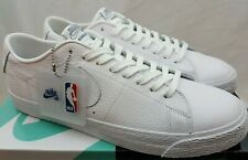 outlet store 3a3b0 1ad7d Nike SB x NBA Zoom Blazer Low White Rush Blue University Red AR1576-114 Size