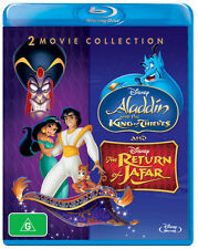 Aladdin: Aladdin: The King of Thieves / The Return of   - BLU-RAY - NEW Region B