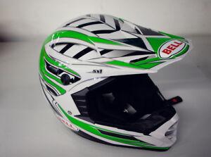 Bell Crosshelm Helm helmet Motocross Cross SX-1 GR SM