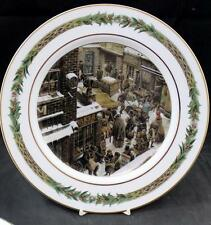 Department 56 CHRISTMAS CLASSIC SCENES Dinner Plate #6 A+ CONDITION
