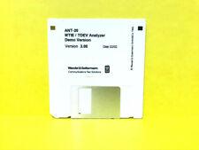 Wandel Amp Goltermann Ant 20 Mtietdev Analyzer Demo 300 Disk 0202 Software
