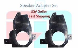 """Front Door 6.5"""" 6 1/2 Aftermarket Speaker Adapter FITS 1990-1996 Nissan 300ZX"""