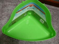"""New listing Kaytee Hi Corner Litter Pan Tall (13.75""""l X 9""""w X 8""""h)"""